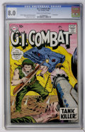 Silver Age (1956-1969):War, G.I. Combat #67 (DC, 1958) CGC VF 8.0 Cream to off-white pages....