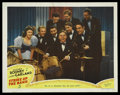 "Movie Posters:Musical, Strike Up the Band (MGM, 1940). Lobby Card (11"" X 14""). Musical. ..."