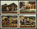 "Movie Posters:Rock and Roll, Don't Knock The Rock (Columbia, 1957). Lobby Cards (4) (11"" X 14"").Rock and Roll. ... (Total: 4 Items)"
