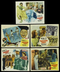 """Movie Posters:Musical, Thousands Cheer (MGM, 1943). Lobby Cards (5) (11"""" X 14""""). Musical. ... (Total: 5 Items)"""
