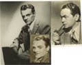 "Movie/TV Memorabilia:Autographs and Signed Items, James Cagney and Edward G. Robinson Signed Photos. Included are ab&w 4.5"" x 7"" photo signed by Robinson in black ink and a ..."