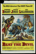 "Movie Posters:Adventure, Beat the Devil (United Artists, 1953). One Sheet (27"" X 41"") andLobby Cards (5) (11"" X 14""). Adventure Comedy. ... (Total: 6 Items)"