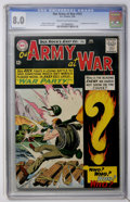 Silver Age (1956-1969):War, Our Army at War #151 (DC, 1965) CGC VF 8.0 Cream to off-white pages....