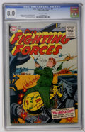 Golden Age (1938-1955):War, Our Fighting Forces #4 (DC, 1955) CGC VF 8.0 Off-white pages....