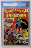 Silver Age (1956-1969):Adventure, Challengers of the Unknown #34 Pacific Coast pedigree (DC, 1963) CGC NM 9.4 Off-white to white pages....