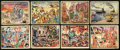 Non-Sport Cards:Sets, 1938 Gum Inc. Horrors of War Group (41 Diff.). ...