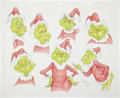 Animation Art:Production Drawing, Virgil Ross The Grinch Drawing Original Art (Warner Bros.,undated)....