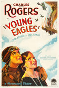"Movie Posters:Action, Young Eagles (Paramount, 1930). One Sheet (27"" X 41"") Style A.. ..."