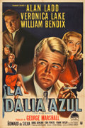 "Movie Posters:Film Noir, The Blue Dahlia (Paramount, 1946). Argentinean Poster (29"" X 43"")....."