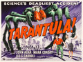"Movie Posters:Science Fiction, Tarantula (Universal International, 1955). British Quad (30"" X40"").. ..."