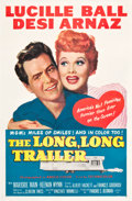 """Movie Posters:Comedy, The Long, Long Trailer (MGM, 1954). One Sheet (27"""" X 41"""").. ..."""