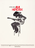 "Movie Posters:Rock and Roll, Jimi Hendrix (Warner Brothers, 1973). Soundtrack Poster (21"" X29"").. ..."