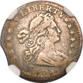 Early Half Dimes, 1803 H10C Small 8--Improperly Cleaned--NGC Details. VF. V-3, LM-1,R.5....