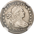 Early Half Dimes, 1796 H10C --Whizzed--NGC Details. VF. LIKERTY, V-1, LM-1, R.3....