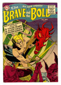Golden Age (1938-1955):Adventure, The Brave and the Bold #2 (DC, 1955) Condition: FN-....