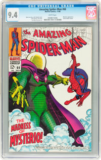 The Amazing Spider-Man #66 (Marvel, 1968) CGC NM 9.4 White pages