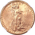 Saint-Gaudens Double Eagles, 1923 $20 MS65 NGC....