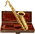 "Musical Instruments:Horns & Wind Instruments, C.G. Conn Ltd. 10M ""Naked Lady"" Tenor Saxophone...."