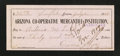 Obsoletes By State:Arizona, Snowflake/Holbrook, AZ- Arizona Co-Operative Mercantile Institution$30 Paid Check July 21, 1909. ...
