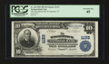 National Bank Notes:Vermont, Woodstock, VT - $10 1902 Plain Back Fr. 624 The Woodstock NB Ch. # 1133. ...