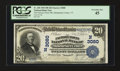 National Bank Notes:Vermont, Manchester Center, VT - $20 1902 Plain Back Fr. 650 The Factory Point NB Ch. # (N)3080. ...