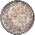 Barber Half Dollars, 1892-S 50C MS67+ PCGS Secure. CAC....