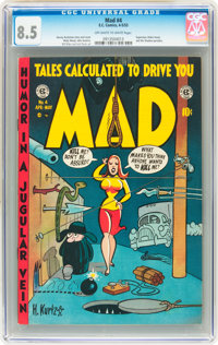 Mad #4 (EC, 1953) CGC VF+ 8.5 Off-white to white pages