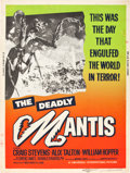 "Movie Posters:Science Fiction, The Deadly Mantis (Universal International, 1957). Poster (30"" X40"").. ..."