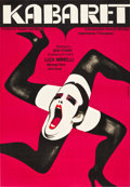 "Movie Posters:Musical, Cabaret (Allied Artists, 1973). Polish One Sheet (23"" X 33"").. ..."