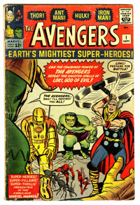 The Avengers #1 (Marvel, 1963) Condition: GD/VG