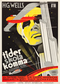 "Movie Posters:Science Fiction, Things to Come (United Artists, 1936). Swedish One Sheet (27.5"" X39.5"").. ..."