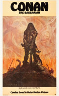 "Movie Posters:Action, Conan the Barbarian (20th Century Fox, 1980). Advance (22"" X 36"")....."