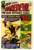 Silver Age (1956-1969):Superhero, Daredevil #1 (Marvel, 1964) Condition: VG-....