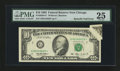 Error Notes:Attached Tabs, Fr. 2030-G* $10 1993 Federal Reserve Star Note. PMG Very Fine 25.....