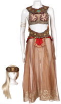 Music Memorabilia:Costumes, The Phantom of the Opera - Slave Girl Costume.... (Total: 5Items)