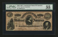 "Confederate Notes:1864 Issues, CT65/491 ""Havana"" Counterfeit $100 1864.. ..."