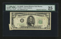 Error Notes:Attached Tabs, Fr. 1963-A* $5 1950B Federal Reserve Star Note. PMG Very Fine 25.....