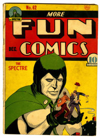 More Fun Comics #62 (DC, 1940) Condition: VG+
