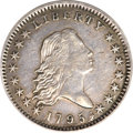 Early Half Dollars, 1795 50C 2 Leaves A Over E XF45 PCGS. CAC. O-113a, R.4....