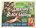 "Movie Posters:Horror, Creature From the Black Lagoon (Universal International, 1954).Title Lobby Card (11"" X 14"").. ..."