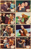 """Movie Posters:Western, Man of the Forest (Paramount, 1933). Lobby Card Set of 8 (11"""" X 14"""").. ... (Total: 8 Items)"""