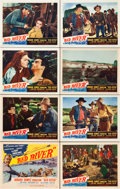"Movie Posters:Western, Red River (United Artists, 1948). Lobby Card Set of 8 (11"" X 14"").. ... (Total: 8 Items)"