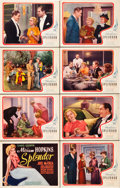"Movie Posters:Comedy, Splendor (United Artists, 1935). Lobby Card Set of 8 (11"" X 14"")..... (Total: 8 Items)"