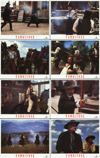 """Tombstone (Buena Vista, 1993). Lobby Card Set of 8 (11"""" X 14""""). ... (Total: 8 Items)"""