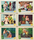"Movie Posters:Adventure, The African Queen (United Artists, 1952). Lobby Cards (6) (11"" X14"").. ... (Total: 6 Posters)"