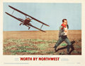 "Movie Posters:Hitchcock, North by Northwest (MGM, 1959). Lobby Cards (2) (11"" X 14"").. ...(Total: 2 Posters)"