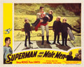 "Movie Posters:Action, Superman and the Mole Men (Lippert, 1951). Lobby Card (11"" X 14"")....."