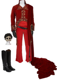 "The Phantom of the Opera - Gerard Butler's ""Red Death"" Masquerade Costume"