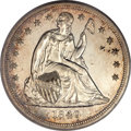 Proof Seated Dollars, 1840 $1 --Cleaned--PR58 ANACS....