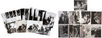 """Group of Photos with Negatives of Lucille Ball and Gary Morton, One of Them with """"The Rat Pack."""""""